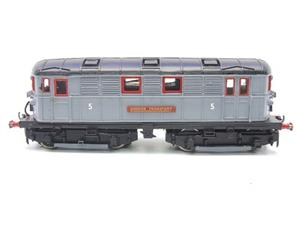 Raylo O Gauge RE11 Metro Vickers Bo-Bo Locotive London Transport Goods Set Electric 3 Rail Boxed image 5