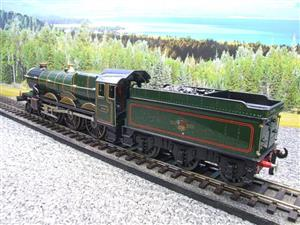 "Ace Trains O Gauge E7 BR Castle Class ""Warwick Castle"" R/N 4081 Electric 3 Rail Boxed image 9"