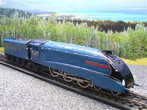 "Ace Trains O Gauge E4 A4 Pacific LNER Blue ""Golden Plover"" R/N 4497 Electric 3 Rail Boxed image 4"