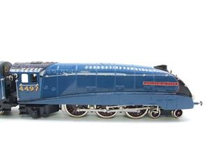 "Ace Trains O Gauge E4 A4 Pacific LNER Blue ""Golden Plover"" R/N 4497 Electric 3 Rail Boxed image 5"