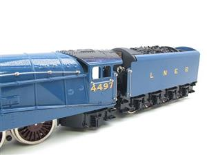 "Ace Trains O Gauge E4 A4 Pacific LNER Blue ""Golden Plover"" R/N 4497 Electric 3 Rail Boxed image 8"