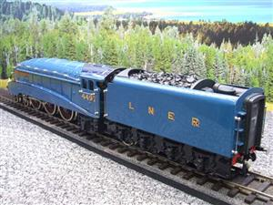 "Ace Trains O Gauge E4 A4 Pacific LNER Blue ""Golden Plover"" R/N 4497 Electric 3 Rail Boxed image 9"