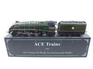 "Ace Trains E4 A4 Pacific BR ""Merlin"" R/N 60027 Electric 3 Rail Boxed image 1"