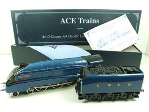 "Ace Trains O Gauge A4 Pacific LNER Garter Blue ""Kingfisher"" RN 4483 Electric Bxd image 3"