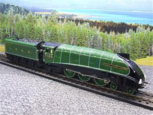 "Ace Trains O Gauge E4 A4 Pacific LNER Green ""Joshua Lionel Cowen"" R/N 7152 Electric 3 Rail Boxed image 2"