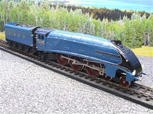 "Ace Trains O Gauge E4 A4 Pacific LNER Blue ""Dwight D Eisenhower"" R/N 4496 Elec 3 Rail Boxed image 4"