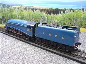 "Ace Trains O Gauge E4 A4 Pacific LNER Blue ""Dwight D Eisenhower"" R/N 4496 Elec 3 Rail Boxed image 9"