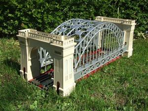 "Lionel 6-32904 O Gauge Marklin Replica ""Hellgate Bridge"" Double Track Edition Electric Lit Edition image 7"
