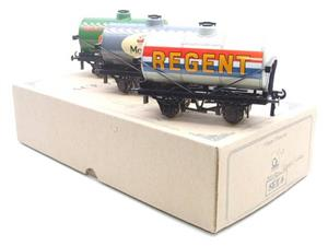 Ace Trains O Gauge G1 Four Wheel Mixed Fuel Tankers x3 Set image 2