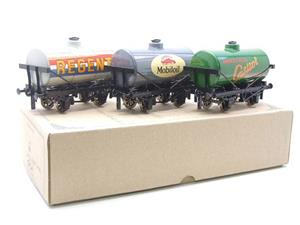 Ace Trains O Gauge G1 Four Wheel Mixed Fuel Tankers x3 Set image 3