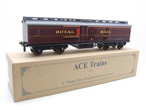 Ace Trains O Gauge LMS Ex MR Brian Wright Overlay Series TPO Mail Coach RN 30285 image 4