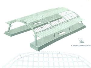Ace Trains O Gauge Constructor Series Station Canopy Kit image 6