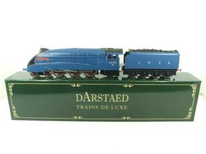 "Darstaed O Gauge A4 Pacific LNER Blue Loco & Tender ""Empire of India"" R/N 4490 Elec 3 Rail Bxd image 1"