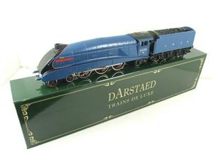 "Darstaed O Gauge A4 Pacific LNER Blue Loco & Tender ""Empire of India"" R/N 4490 Elec 3 Rail Bxd image 3"