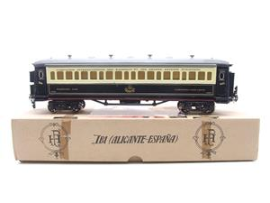 Paya Spain O Gauge Wagon Lits Sleeping Coach R/N 1388 Boxed Interior Lit image 1