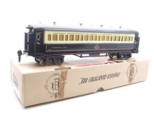 Paya Spain O Gauge Wagon Lits Sleeping Coach R/N 1388 Boxed Interior Lit image 3