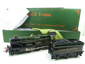 "Ace Trains O Gauge E7 GWR Castle Class ""Warwick Castle"" R/N 4081 Electric Boxed image 3"