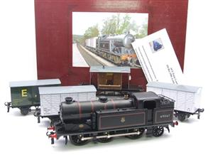 Ace Trains O Gauge E11/GS BR Class N2 Tank Loco R/N 69587 & Goods Set Boxed image 1