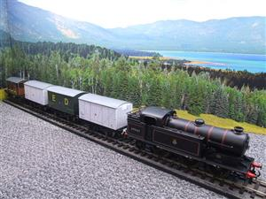 Ace Trains O Gauge E11/GS BR Class N2 Tank Loco R/N 69587 & Goods Set Boxed image 2