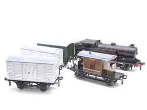 Ace Trains O Gauge E11/GS BR Class N2 Tank Loco R/N 69587 & Goods Set Boxed image 4