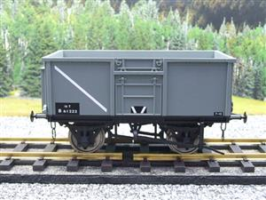 Gauge 1 Model Company RR101-3 BR Grey 16 Tons Mineral Wagon RN B61222 image 1