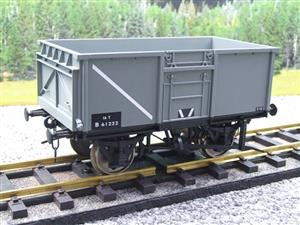 Gauge 1 Model Company RR101-3 BR Grey 16 Tons Mineral Wagon RN B61222 image 10