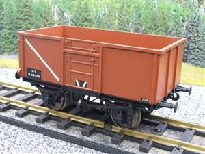 Gauge 1 Model Company RR101-3 BR Bauxite Brown 16 Tons Mineral Wagon RN 65100 image 2
