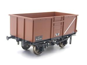 Gauge 1 Model Company RR101-3 BR Bauxite Brown 16 Tons Mineral Wagon RN 65100 image 3