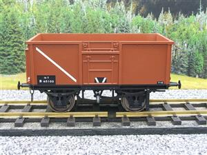 Gauge 1 Model Company RR101-3 BR Bauxite Brown 16 Tons Mineral Wagon RN 65100 image 5