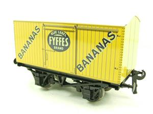 "Ace Trains O Gauge G2 Private Owner ""Fyffes Bananas"" Van Tinplate image 3"