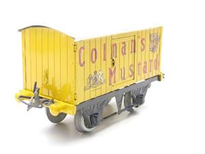 "Hornby Replica Taylor O Gauge Private Owned ""Colmans Mustard"" Van Tinplate Ltd Ed Boxed image 2"