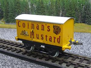"Hornby Replica Taylor O Gauge Private Owned ""Colmans Mustard"" Van Tinplate Ltd Ed Boxed image 3"