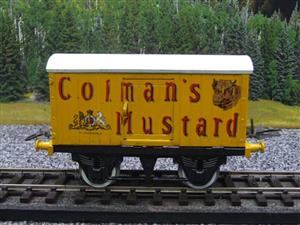 "Hornby Replica Taylor O Gauge Private Owned ""Colmans Mustard"" Van Tinplate Ltd Ed Boxed image 5"