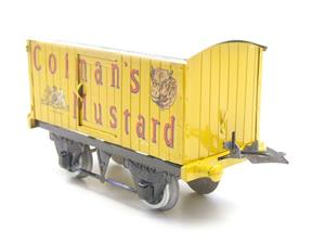 "Hornby Replica Taylor O Gauge Private Owned ""Colmans Mustard"" Van Tinplate Ltd Ed Boxed image 6"