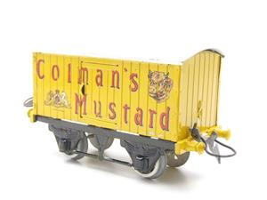 "Hornby Replica Taylor O Gauge Private Owned ""Colmans Mustard"" Van Tinplate Ltd Ed Boxed image 9"