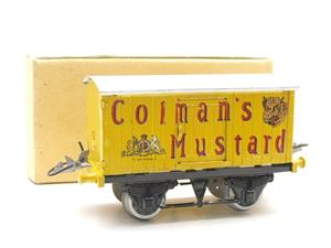 "Hornby Replica Taylor O Gauge Private Owned ""Colmans Mustard"" Van Tinplate Ltd Ed Boxed image 10"