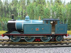 Gauge 1 Freelance CR Caledonian Railway 0-6-2 Tank Loco R/N 640 Spirit Fired Live Steam image 1