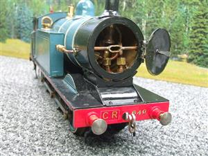 Gauge 1 Freelance CR Caledonian Railway 0-6-2 Tank Loco R/N 640 Spirit Fired Live Steam image 7