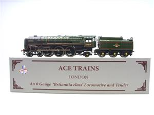 "Ace Trains O Gauge E27K BR Britannia Class ""Lighting"" R/N 70019 Post 56 Bxd image 1"