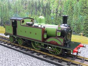 "Gauge 1 LSWR Green ""M7"" Class 0-4-4 Tank Loco R/N 59 Spirit Fired Live Steam image 3"
