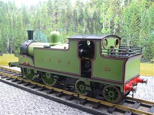 "Gauge 1 LSWR Green ""M7"" Class 0-4-4 Tank Loco R/N 59 Spirit Fired Live Steam image 8"