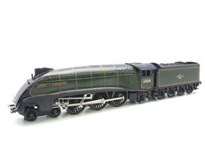 "Seven Mills O Gauge BR Green A4 Pacific ""Dwight D Eisenhower"" Loco & Tender R/N 60008 Elec 2/3 Rail image 3"