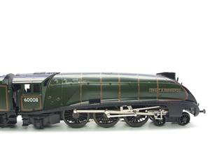 "Seven Mills O Gauge BR Green A4 Pacific ""Dwight D Eisenhower"" Loco & Tender R/N 60008 Elec 2/3 Rail image 5"