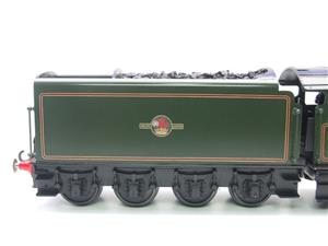 "Seven Mills O Gauge BR Green A4 Pacific ""Dwight D Eisenhower"" Loco & Tender R/N 60008 Elec 2/3 Rail image 6"
