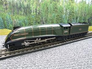 "Seven Mills O Gauge BR Green A4 Pacific ""Dwight D Eisenhower"" Loco & Tender R/N 60008 Elec 2/3 Rail image 9"