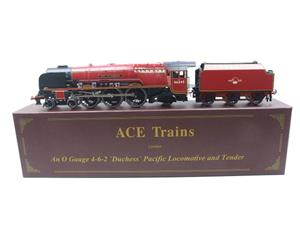 "Ace Trains O Gauge E12 BR  Duchess Pacific ""City Of London"" RN 46245 Electric 2/3 Rail Bxd image 1"