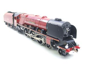 "Ace Trains O Gauge E12 BR  Duchess Pacific ""City Of London"" RN 46245 Electric 2/3 Rail Bxd image 2"