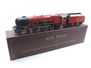 "Ace Trains O Gauge E12 BR  Duchess Pacific ""City Of London"" RN 46245 Electric 2/3 Rail Bxd image 3"