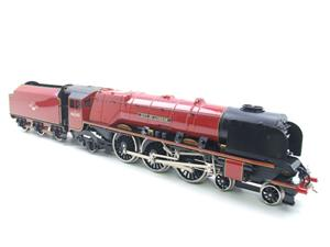 "Ace Trains O Gauge E12 BR  Duchess Pacific ""City Of London"" RN 46245 Electric 2/3 Rail Bxd image 9"