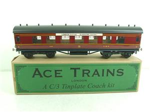 Ace Trains O Gauge C/3 Kit LMS 3rd Corridor Coach NEW Unmade Boxed image 1
